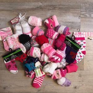 Infant girls socks